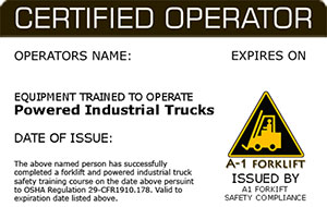 safe driving certificate template